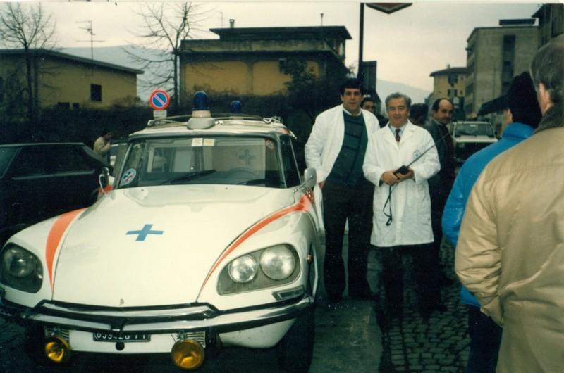 Storia Croce Azzurra Reggello